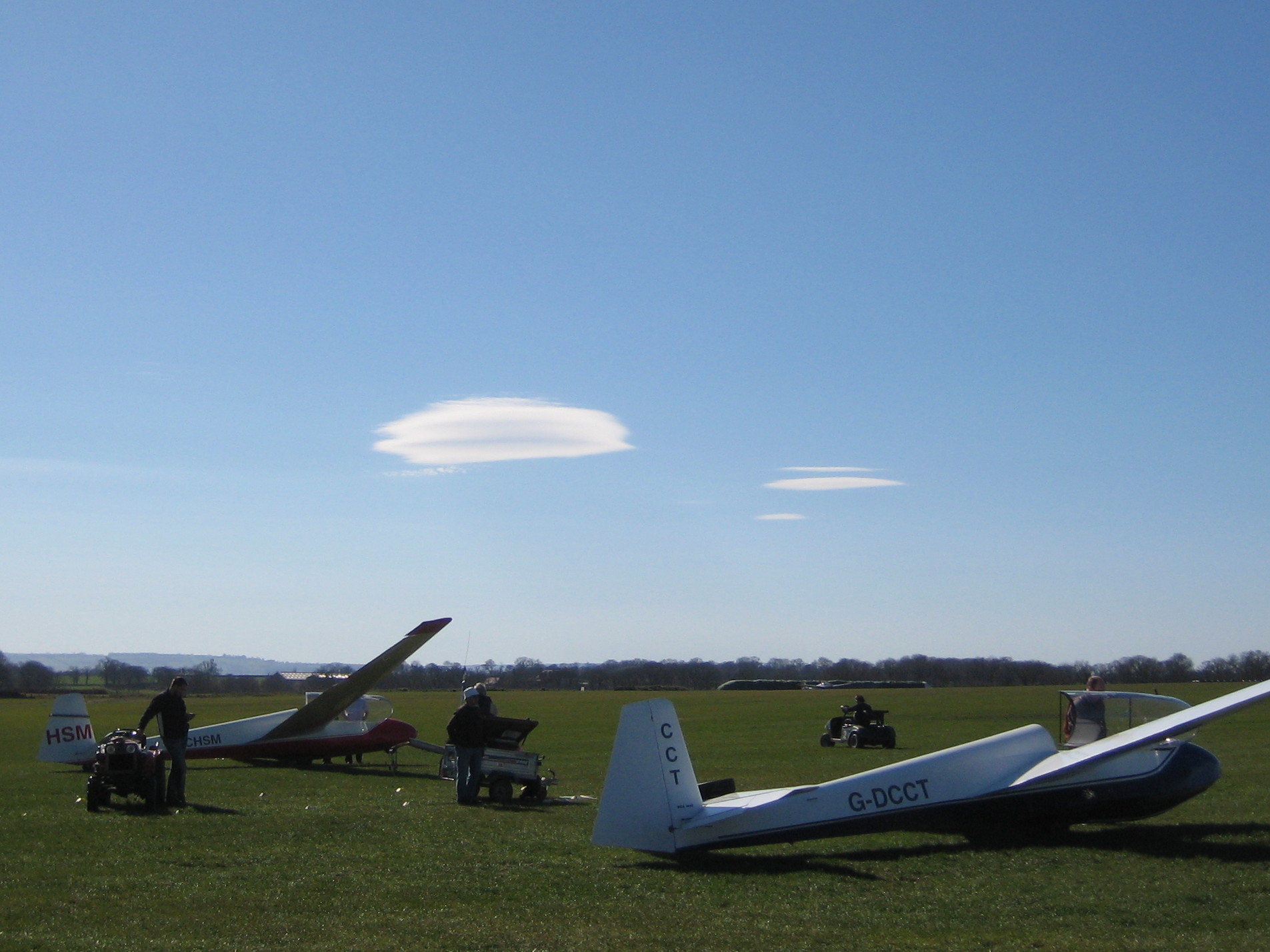 Lenticular Clouds over Snitterfield